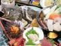 *三陸大漁膳/ウニ、アワビ、イカ、ホタテなど、八戸ならではの旬の魚貝類満載!