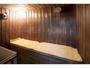 【サウナ】男性専用浴場内サウナスペース(2名様用) 15時から翌朝10時までご利用頂けます。