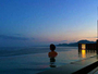 最上階7階 絶景露天風呂「蒼空Sora」空と海に包まれた世界