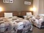 【ツインエコノミー】19平米、120cm幅のベッド2台♪ご家族連れでもゆったりツイン♪