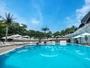 【アウトドアプール】広大な日本庭園に囲まれた都内ホテル最大級のアウトドアプール。