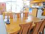【食堂】朝は宿泊者の食堂、夜は居酒屋です