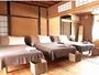 2階のお部屋は和洋室となっています。