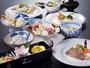 好評♪和洋折衷創作料理のご夕食です♪(仕入れ状況で内容に変更がございます)