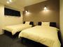 【洋室ツイン・大】落ち着いた雰囲気のベッドルーム