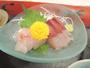 *【夕食一例】富山湾の新鮮な旬の魚介類が献立の中心になります