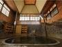【白猿の湯】日本一深い天然自噴岩風呂、白猿の湯。広がる空間と湯力を体感して欲しい