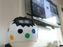 【客室】卵型ロボットタピア。たくさん話しかけてください。