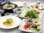 お食事の一例です。季節により内容が変わります。小学生には魚料理がつきません。