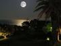 ムーンロード(イメージ)相模灘海上に浮かぶお月さま。ホテルテラス・露天風呂などからお楽しみください