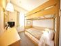 【2段ベットルーム】ベッドサイズ100cm×195cm