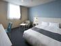*【客室一例/ダブル(20平米)】全室20平米以上のゆったりとした快適なお部屋です。