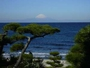大浴場から眺める風景(洋上に浮かぶ富士山)!