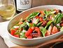 夏のサラダ/契約農家の朝採れ野菜。素材の味わいを愉しむシンプルな調理法でご提供いたします。