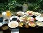 朝食和洋&沖縄風ブッフェ盛り付け例