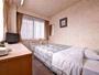 *シングルB(客室一例)/一人旅やビジネスのご宿泊に◎ごゆっくりお寛ぎ下さい。