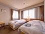 *ツイン(客室一例)/カップルやお友達同士でのご宿泊におすすめ!ふかふかのベッドでお休み下さい。