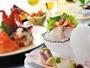 海の幸を中心とした会席料理をご堪能ください。