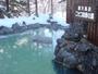 雪の露天風呂