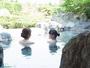 一階の庭園露天風呂でまったり♪