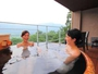 客室露天風呂一例(信楽焼)。名湯・強羅温泉で日々の疲れを癒してください。