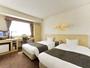 ツインルーム客室22平米 ベッド200cm(縦)114cm
