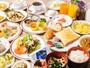 【朝食】日立の食材を使ったブッフェスタイルの朝食一例