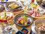 【美泉遊膳】<あやめ膳>土・日・祝日だけの特別膳。初夏の旬素材をいかした献立をご賞味くださいませ