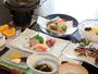 新鮮なお魚と小豆島特産の手延べうどん、瀬戸内の魅力がいっぱい詰まった夕食