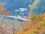 【外観】鹿野川湖(ダム湖)を望めます。