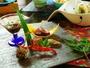 【夏料理】【前肴】もずく酢 卯の花松風 駒ヶ根産胡麻とうふ 諏訪湖産川海老 他