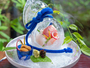 【GENJI香】夕食一例[お造り]瓢箪氷鉢
