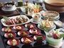 【季節の京会席】9種のおばんざいを始め、鴨鍋や季節の釜飯をご堪能下さいませ。(春夏イメージ)