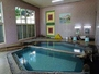 源泉かけ流しの温泉です。男性大浴場は浴槽が2つ有りそれぞれの温度が違います