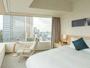 2ベッドルームのマスターベッドルーム。