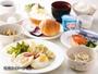 ◇和洋バイキング朝食(1食550円)2階フロント前ロビーにて