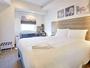 【ダブルルーム】2~13F・15平米-17平米・ダブルベッド152cm幅1台・お子様との添い寝におすすめです