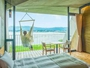 【3F:ゲストルーム】パノラマ琵琶湖ビューとチェアハンモックに揺られる贅沢な時間