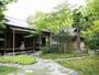 ホテル内の日本庭園「有楽苑」と国宝茶室「如庵」