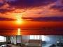 海側のお部屋から、大浴場(3-5名)、小浴場(2-3名)からも日本海が一望できます♪