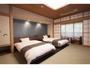 お部屋 露天風呂付 景色を見ながら温浴にひたれます。