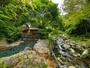 渓流との一体感が魅力のしいばの湯