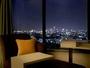 スカイビューダブルルームからの眺望例。お部屋の向きによって景色は異なります。
