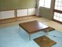 純和室で落ち着いた部屋