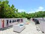 【器材洗い場】日当たり良好な干場でしっかりと乾きます。