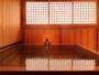 【客室露天】檜の香りが心地よい露天で、掛け流しの効能豊かな温泉を満喫!