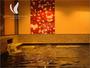 【女性浴場】 温泉と同様の成分を含む光明石を使用した人工温泉