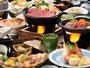 福島牛を使用した、すき焼きと陶板焼きのメイン料理になります。