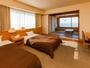 ★和洋室ツイン・海側★ホテル飛鳥で一番人気の客室◇48平米-