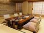 最上階の特別室本間16畳。窓からは那須連山を一望。夏はりんどう湖花火鑑賞も◎